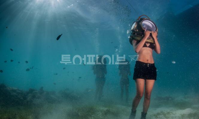 [세부 액티비티 & 데이투어] 바닷속 체험 헬멧다이빙/씨워커 (Helmet Diving, Sea walking)
