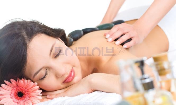[보라카이 마사지 & 스파] 루나스파 - 스톤마사지(Stone Massage) $60