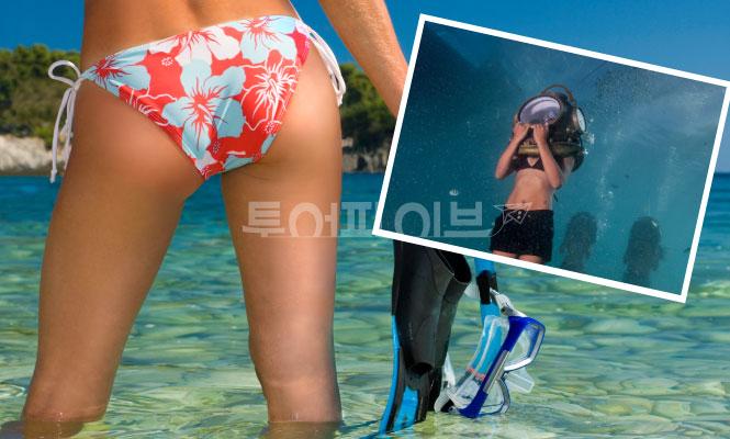 [보라카이 패키지] 호핑투어(크리스탈코브, 씨푸드) + 헬멧다이빙