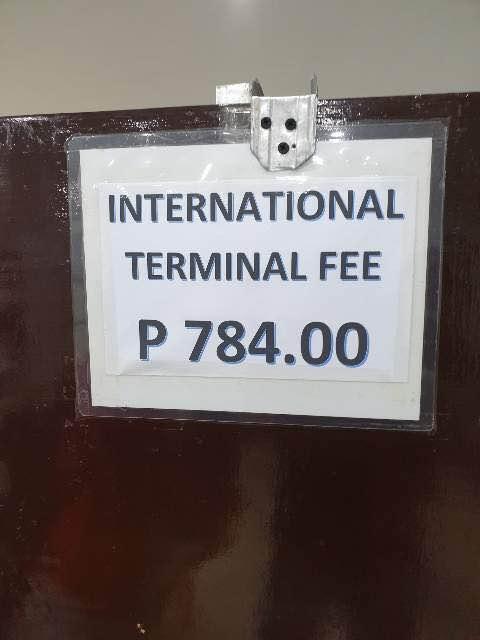 필리핀 공항세 - 보라카이, 마닐라, 클락, 세부, 보홀, 팔라완 공항이용료